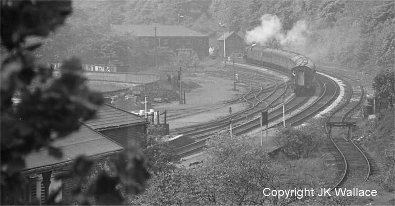 1X55 Riddel & Co excursion Bradford Exchange – Blackpool North passing Todmorden 09.45 Saturday 4 June 1966