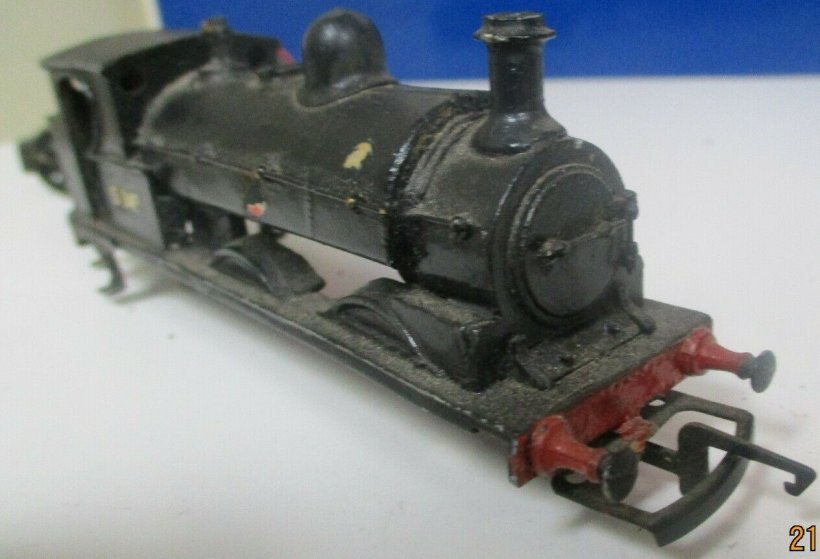 Cotswold LYR Barton Wright Class 23 0-6-0 saddle tank body three quarters front view, as purchased off eBay