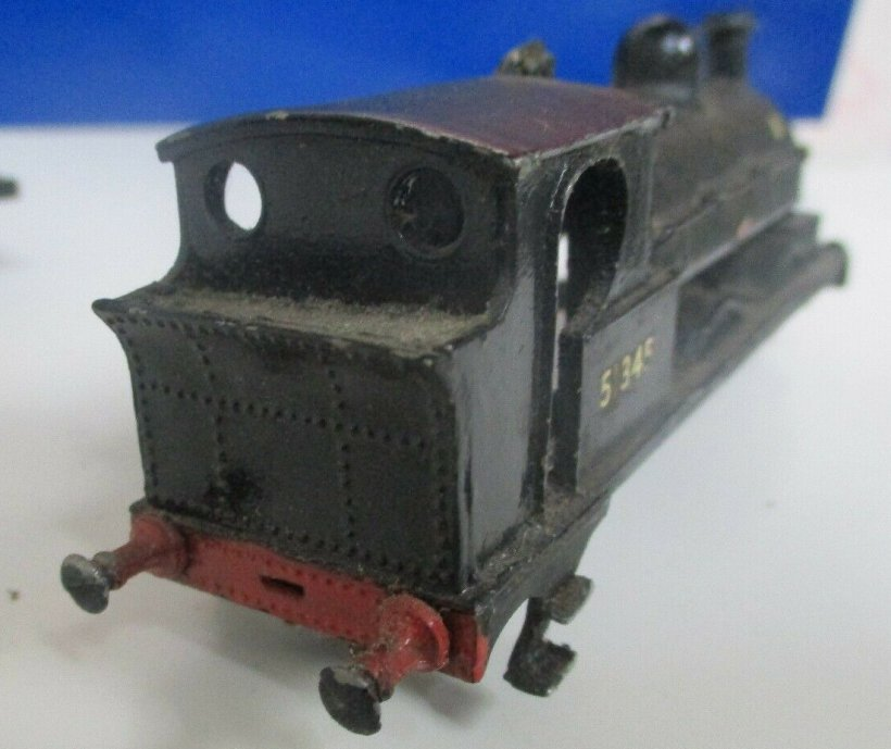 Cotswold LYR Barton Wright Class 23 0-6-0 saddle tank body three quarters rear view, as purchased off eBay