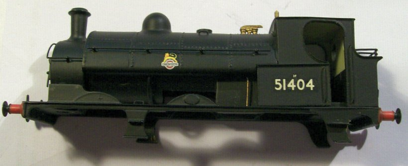 OOWorks LYR Barton Wright Class 23 0-6-0 saddle tank body driver's side, as purchased off eBay