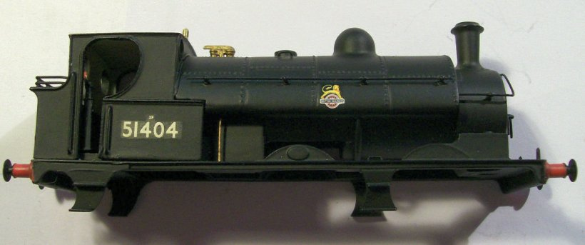 OOWorks LYR Barton Wright Class 23 0-6-0 saddle tank body fireman's side, as purchased off eBay