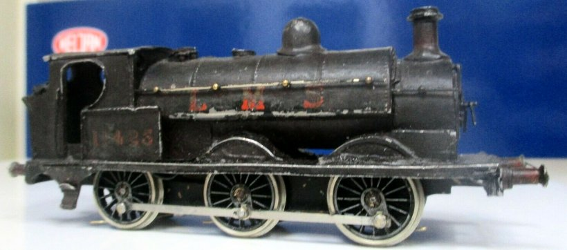 EM gauge Cotswold LYR Barton Wright Class 23 0-6-0 saddle tank side view