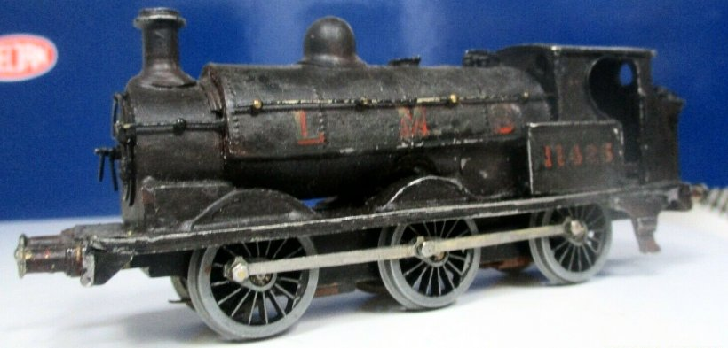 EM gauge Cotswold LYR Barton Wright Class 23 0-6-0 saddle tank three quarters front view