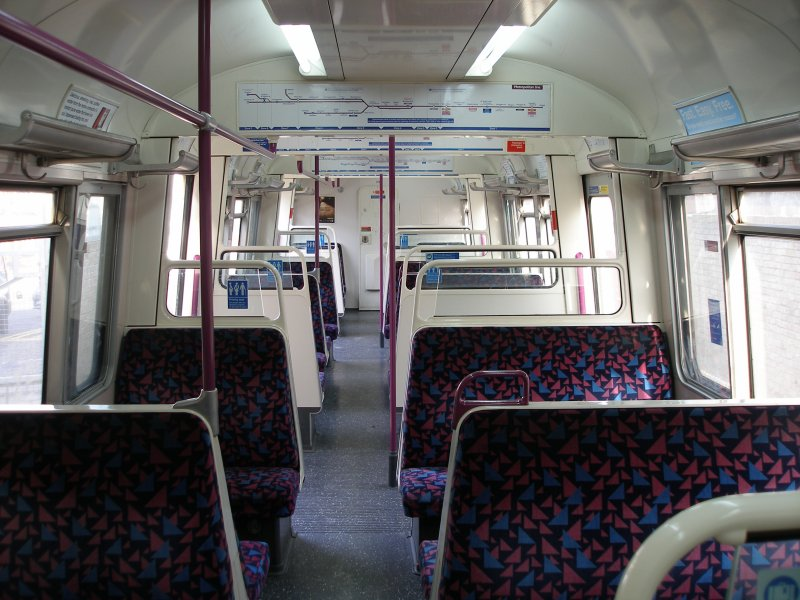 A60 stock interior as on 09 December 2010 lloking towards driver's cab