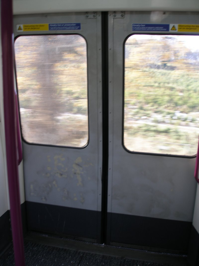A60 stock interior as on 09 December 2010 showing double door detail