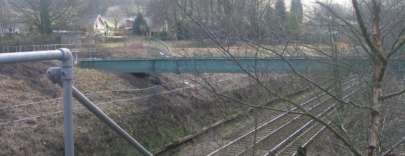Calder Valley Main Line Aqueduct Bridge 93 photographed on 25 March 2016 looking towards Manchester