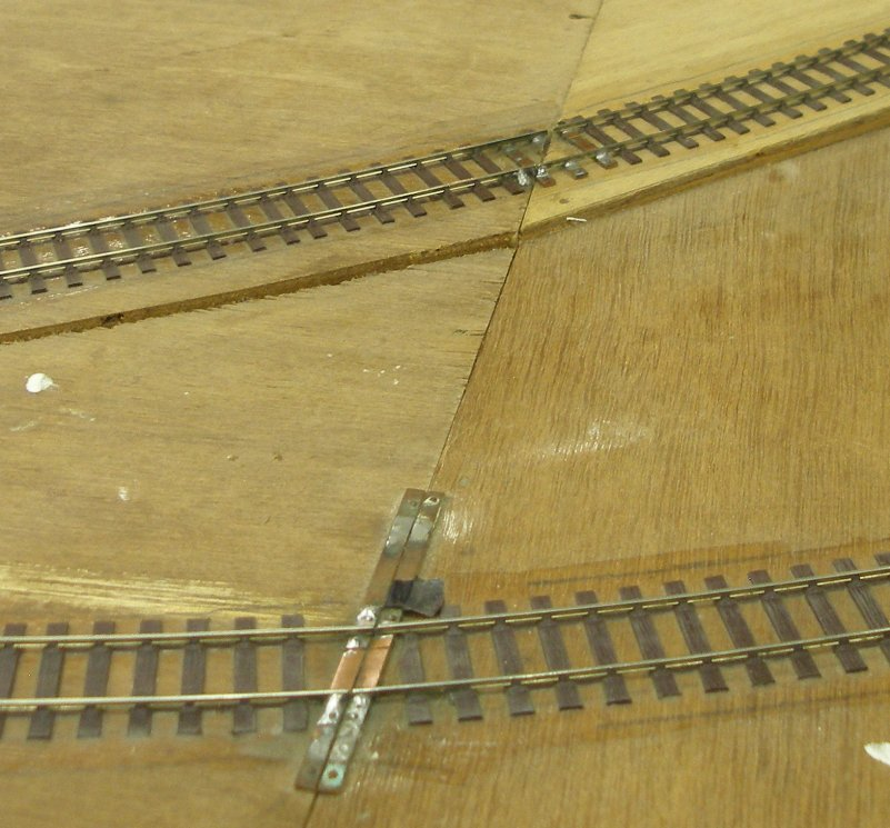 Baseboard joints on the Manchester MRS Dewsbury layout