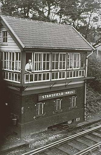 Stansfield Hall Signal Box, Todmorden