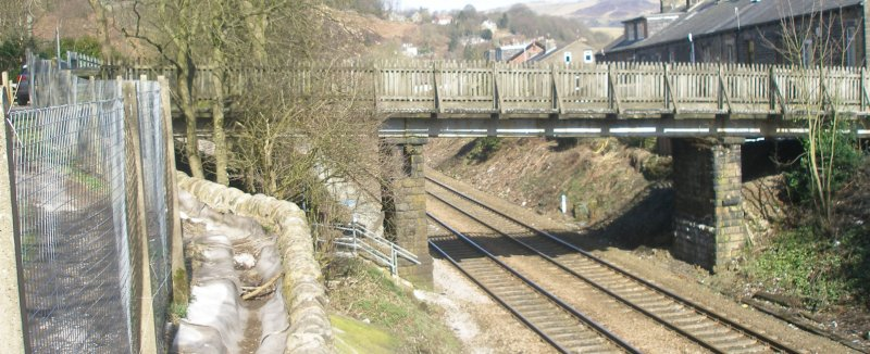 Bridge 100 between Walsden and Gauxholme