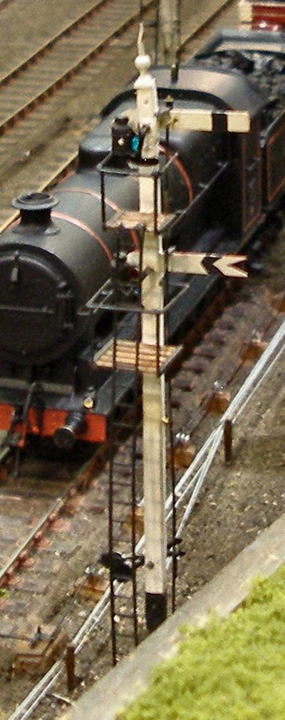 A Calderwood L&YR signal from the rear