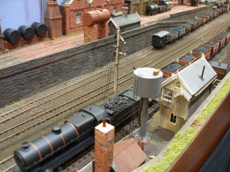 Calderwood L&YR signal box in detail