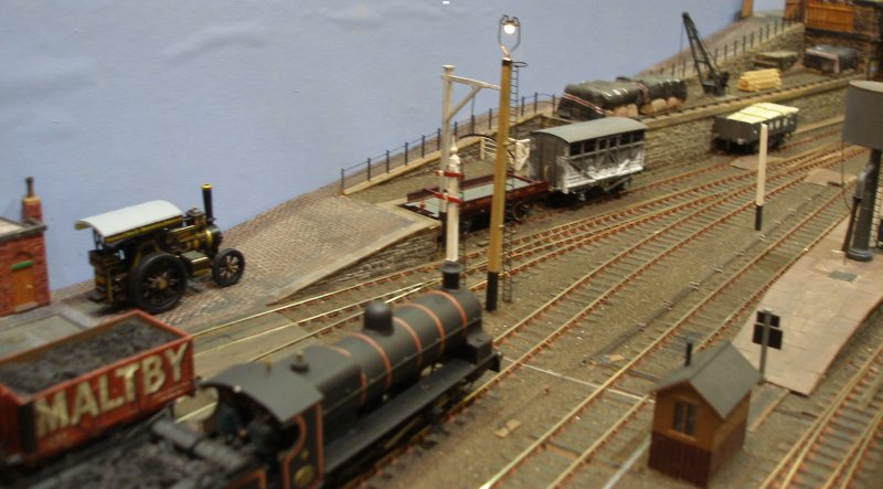 Calderwood Goods Yard throat