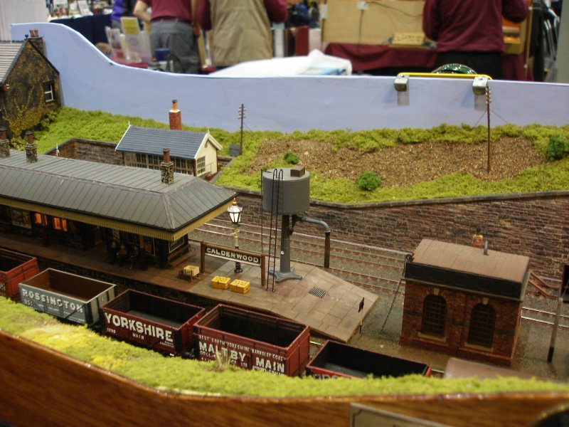 Calderwood Station - a superb 4mm L&Y themed layout.