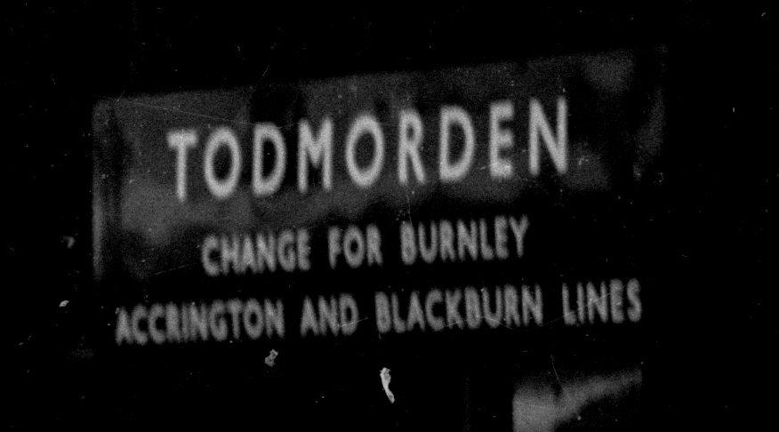 Todmorden: Change for Burnley, Accrington and Blackburn Lines