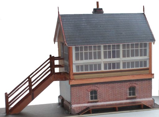 LYR Size 6 4mm scale signal box kit