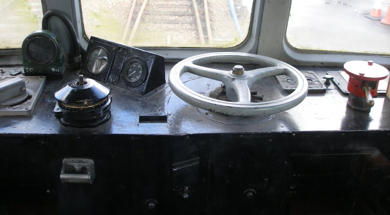 Metro-Cammell DMU Class 101 showing cenre of driver's desk