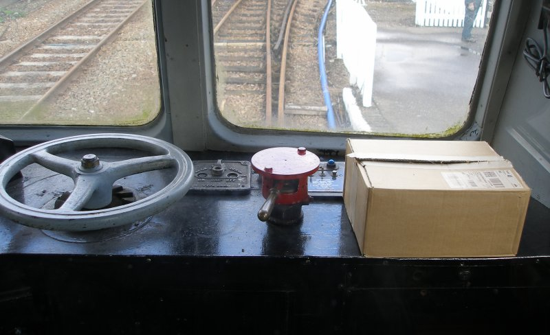 Metro-Cammell DMU Class 101 showing right hand of driver's desk