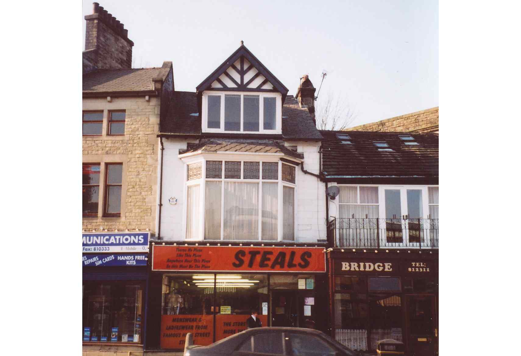 37 Burnley Road, Todmorden; as 'Steals' (now Costermongers)