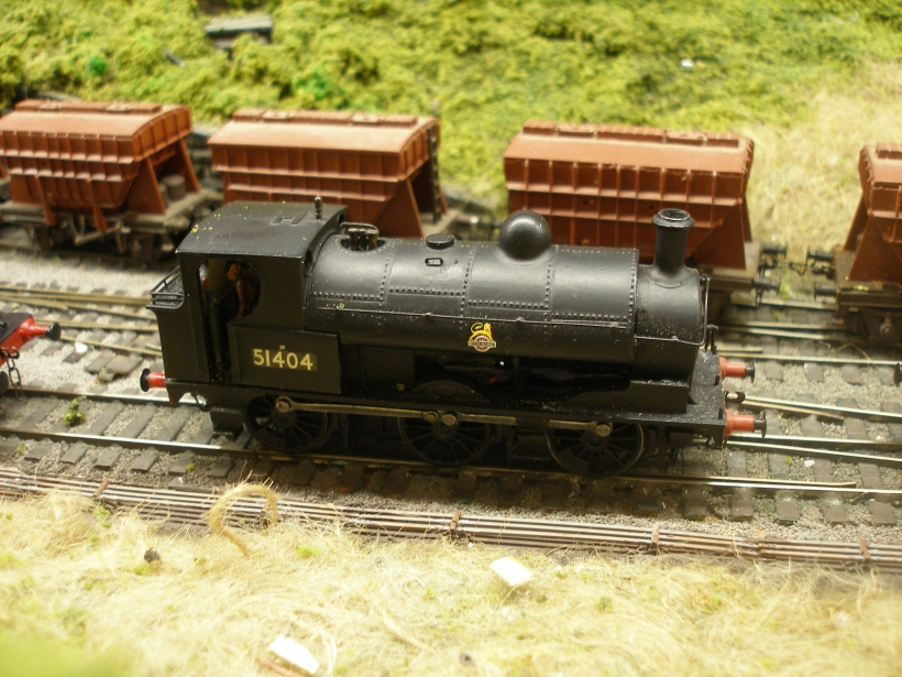 The OOWorks LYR Class 23 mounted on a Bachmann Pannier chassis, side view.