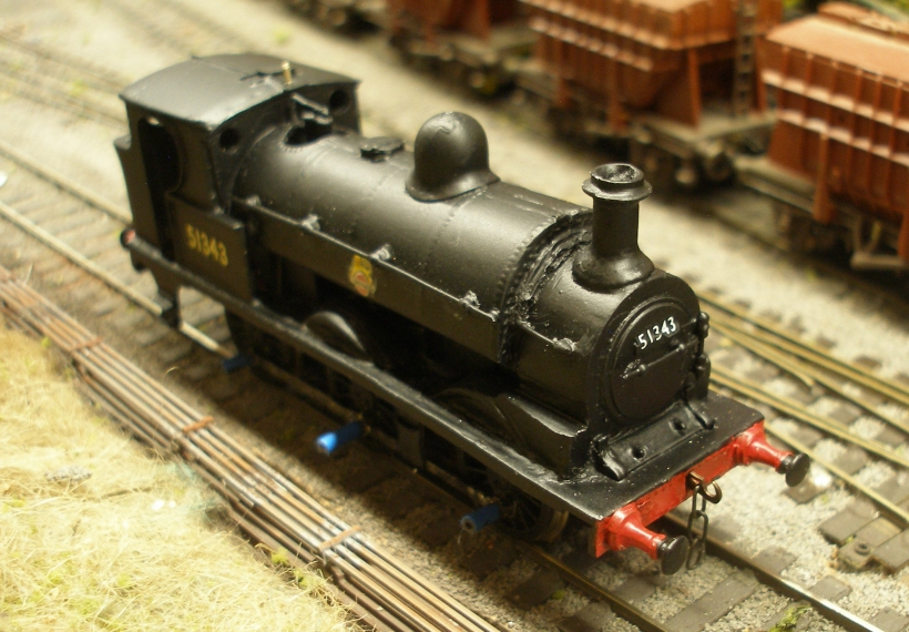 Cotswold LYR Class 23 0-6-0 sprayed and varnished in BR livery as 51343