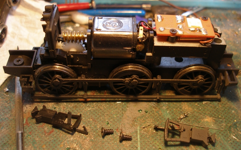 Bachmann Pannier tank chassis with body removed