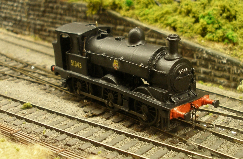 LYR Barton Wright Class 23 0-6-0ST mounted on a Bachmann Pannier chassis, viewed on Hall Royd Junction, driver's side.