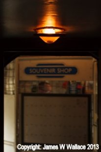 The Souvenir Shop faithfully restored in West Coast Rwailway's BR Mark 1