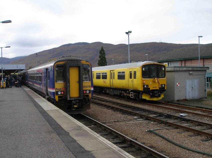 On arrival at Fort William...