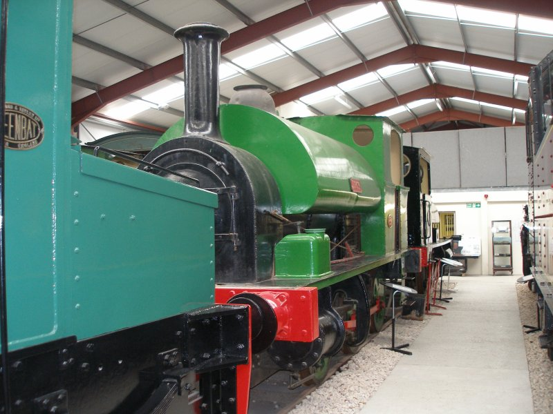 Liverpool Locomotive Preservation Group's 'Lucy' as seen at the Ribble Steam Centre, Preston.