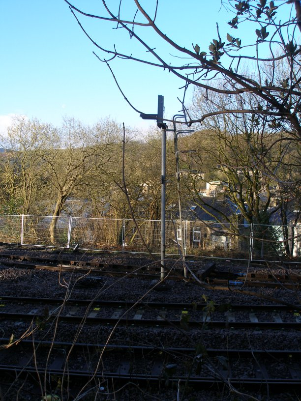 Stansfield Hall Junction Todmorden 22 March 2014 showing PN339 before it was removed, not being there 24 hours later.
