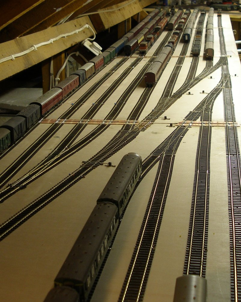Hall Royd's new storage sidings now looking rather full...