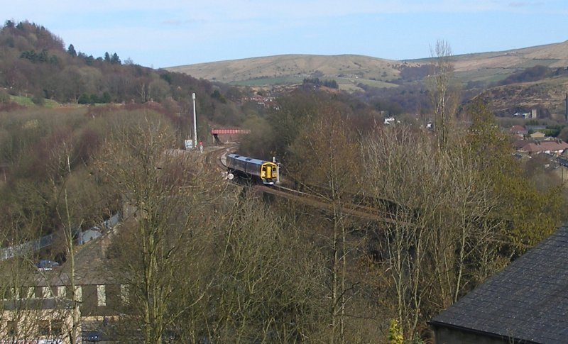 Todmorden Viaduct Friday 25 March 2016