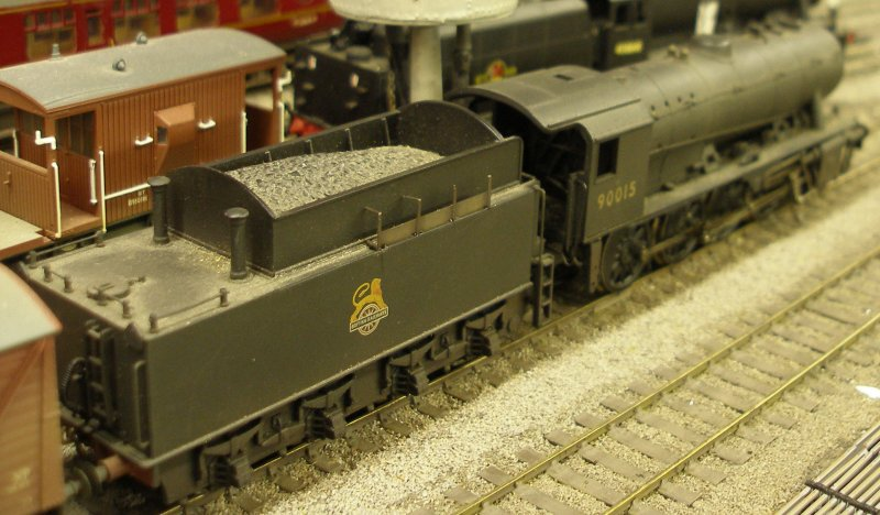 247 Developments fire iron rack affixed to the WD 2-8-0 tender side